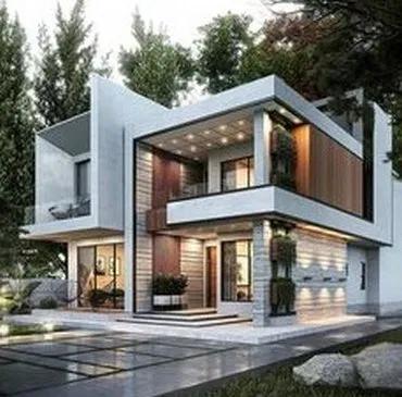 Top 23 Modern House Designs Ever Built In 2020 Duplex House Design Modern Villa Design Bungalow House Design