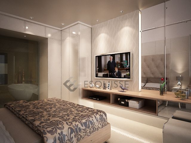 Apartment Interior Design Modern Classic Ideas Bedroom Residence8