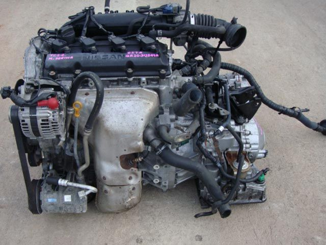 Used Car Engines >> Engine Code Qr20 Fits In Nissan Serena Japanese Used
