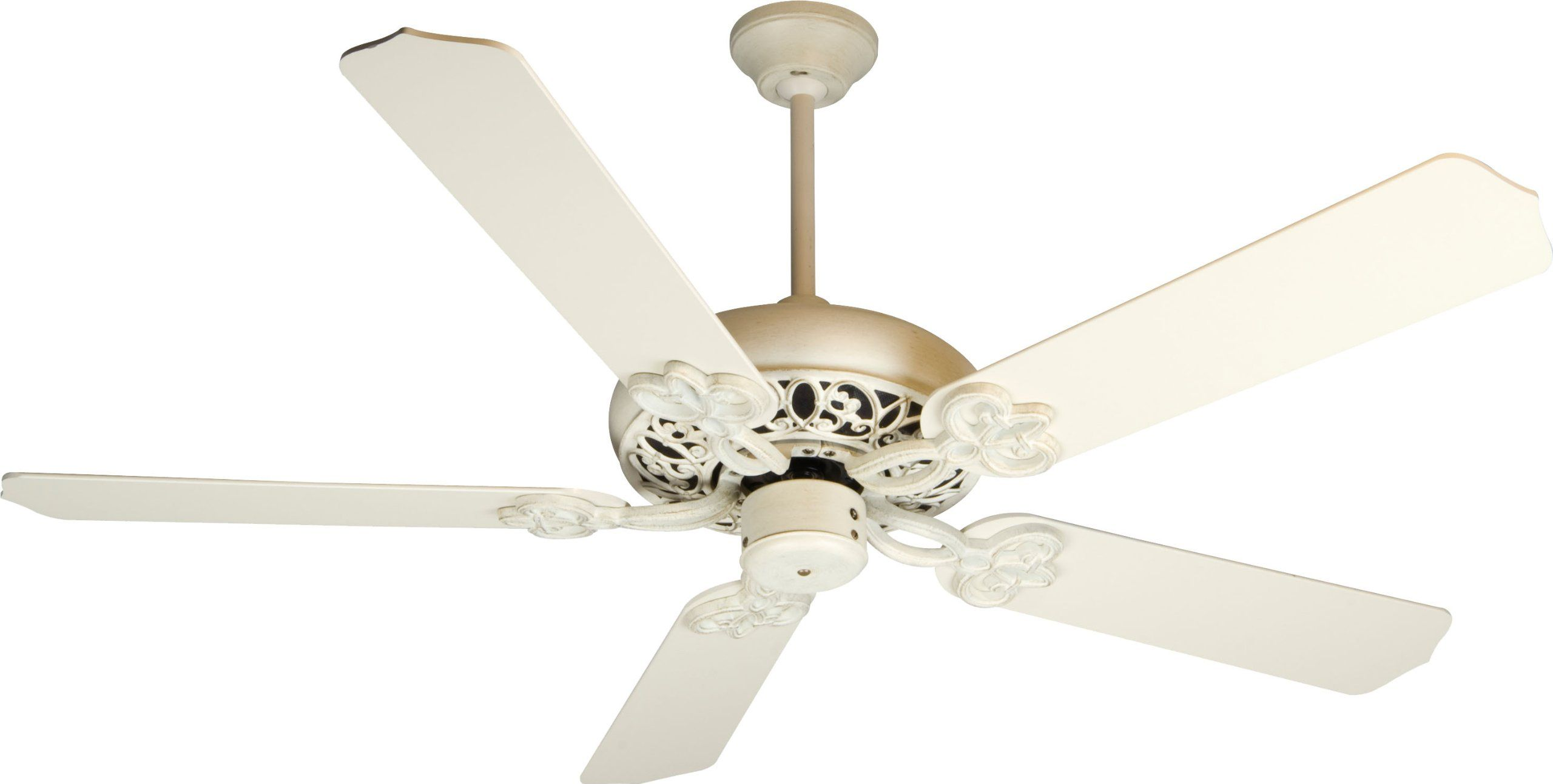 Distressed Wood Ceiling Fan Craftmade Cc52awd Cecilia Antique White Energy Star 52
