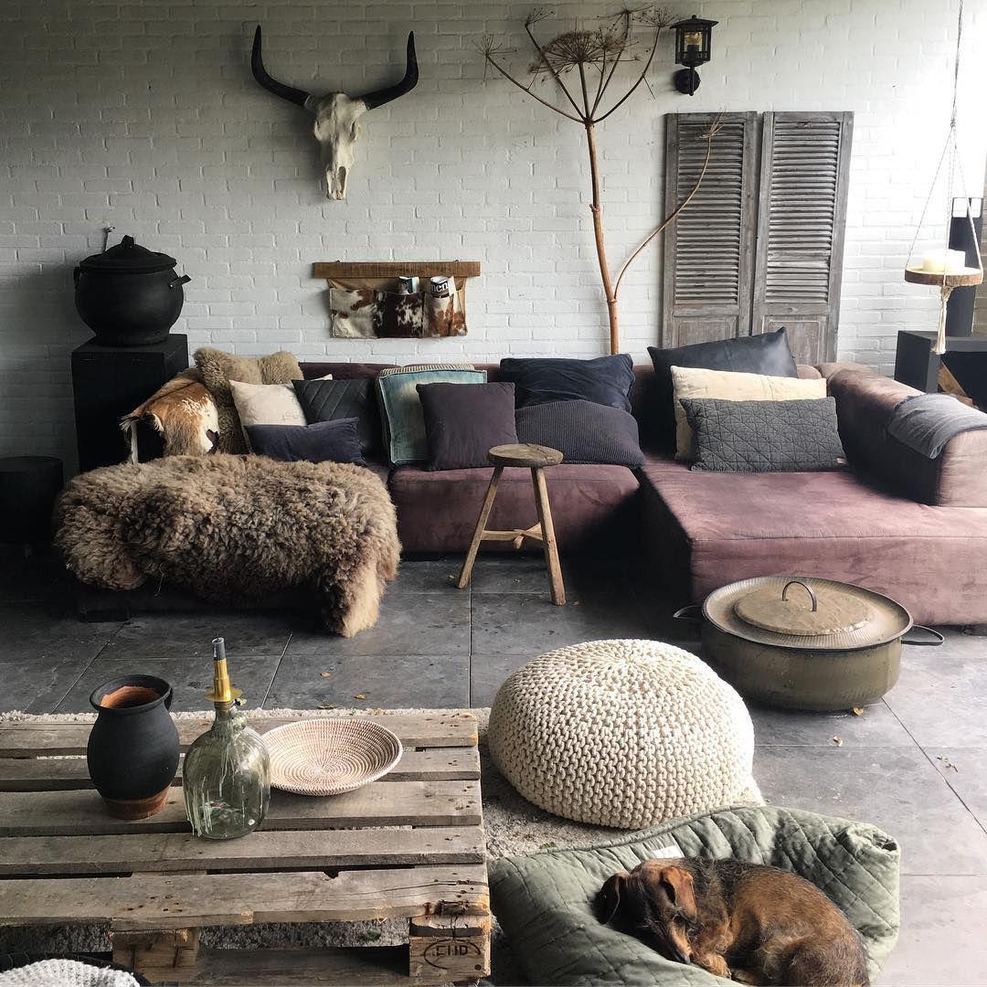 Een vacht in het interieur | Pinterest | Interiors, Living rooms and ...