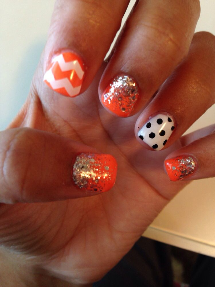 New gel fall nails. | Nails, Halloween nails, Toe nails
