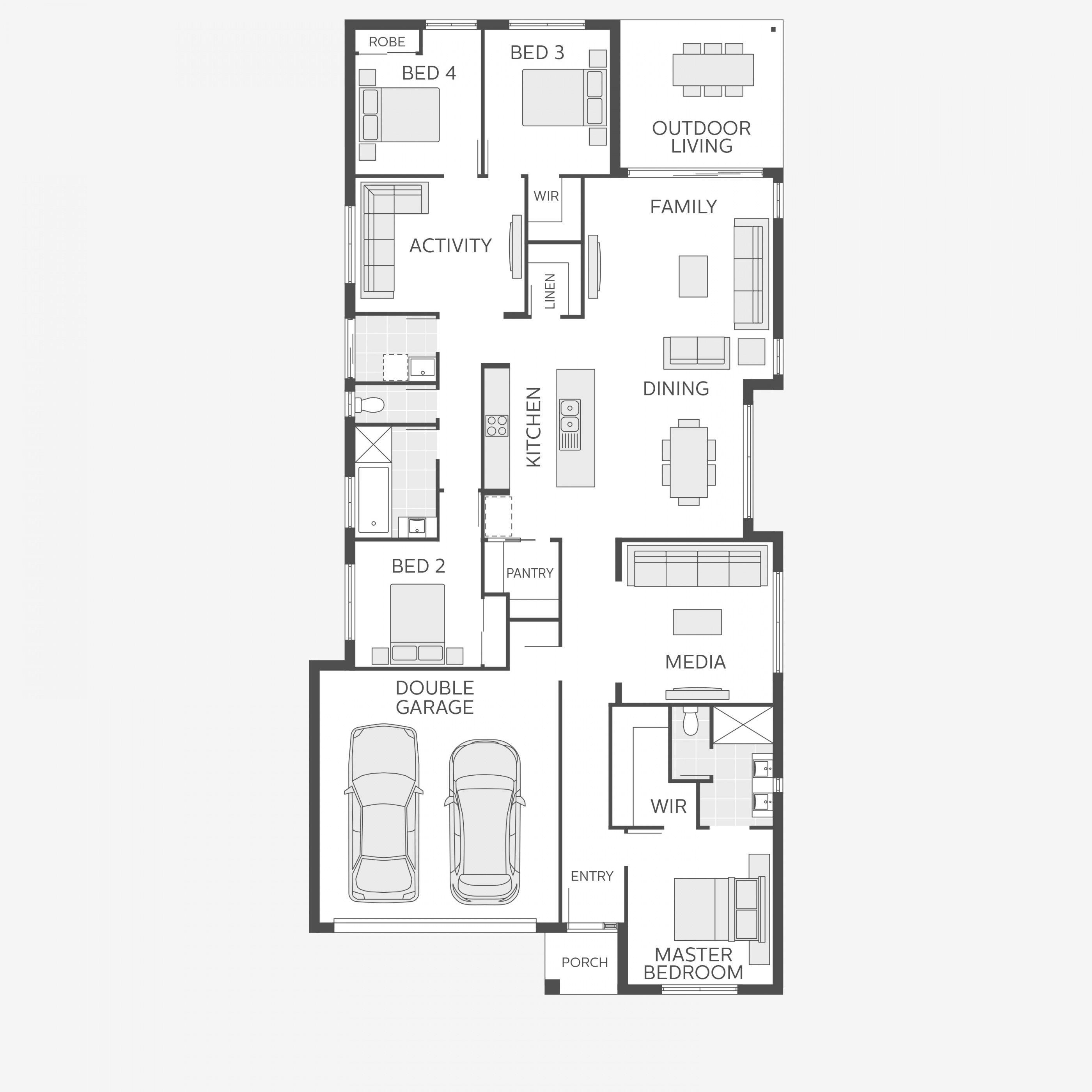 Home Design Floorplan Image Flip Description House Floor Plans Open Plan Living Floor Plans