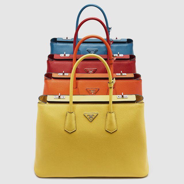 The colorful Prada Twin Bag