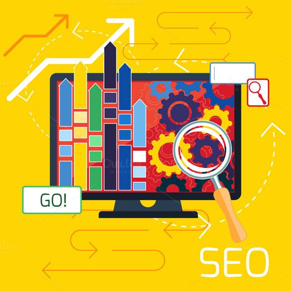 Check out SEO optimization, programming proces by robuart on Creative Market