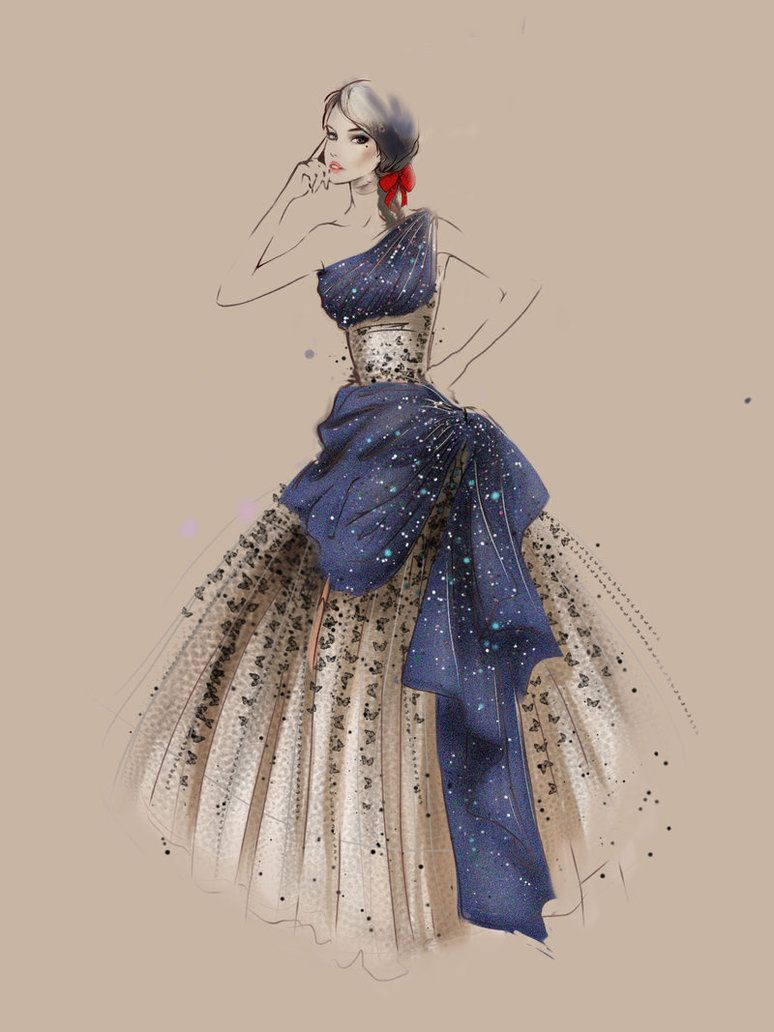 Butterfly by alextangweihao on deviantART #sketches #fashion #moda
