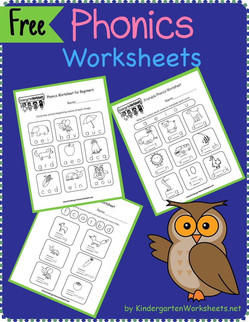 Our Phonics Worksheets Offer The Beginning Stage Of Making The Connection By Identifyin Kindergarten Phonics Worksheets Phonics Kindergarten Phonics Worksheets [ 1035 x 800 Pixel ]