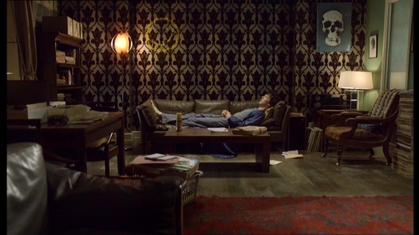 Bbc Sherlock Apartment Tapete