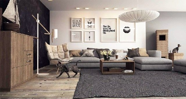 Cozy Modern Living Room cozy modern living room design | home design ideas