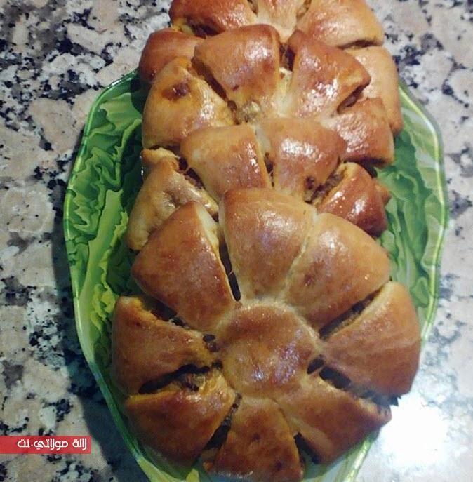 فطائر الوردة بحشوة لذيذة و سهلة رمضان مجلة لالة مولاتي نت Majalat Lalamoulati Net Food Breakfast Bread