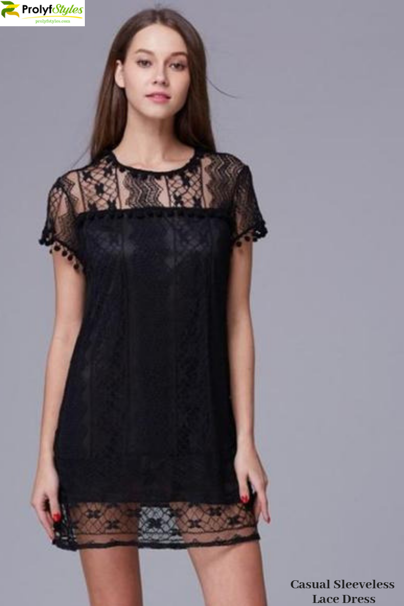 2e8931f485 casual lace dress, black lace dress, mini lace dress, short lace dress,  little black dress, LBD, crew neck dress, cute black dress, cute lace dress,  #dress
