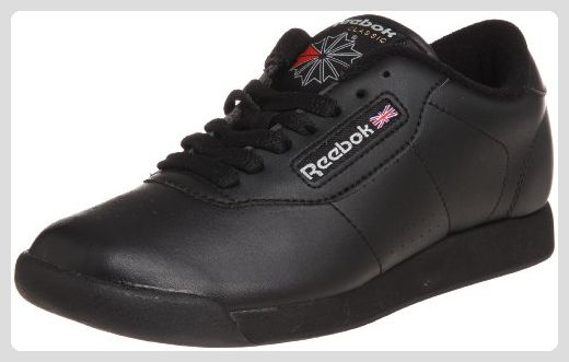 Reebok Princess, Damen Sneakers, Schwarz (Int-Black), 43 EU (