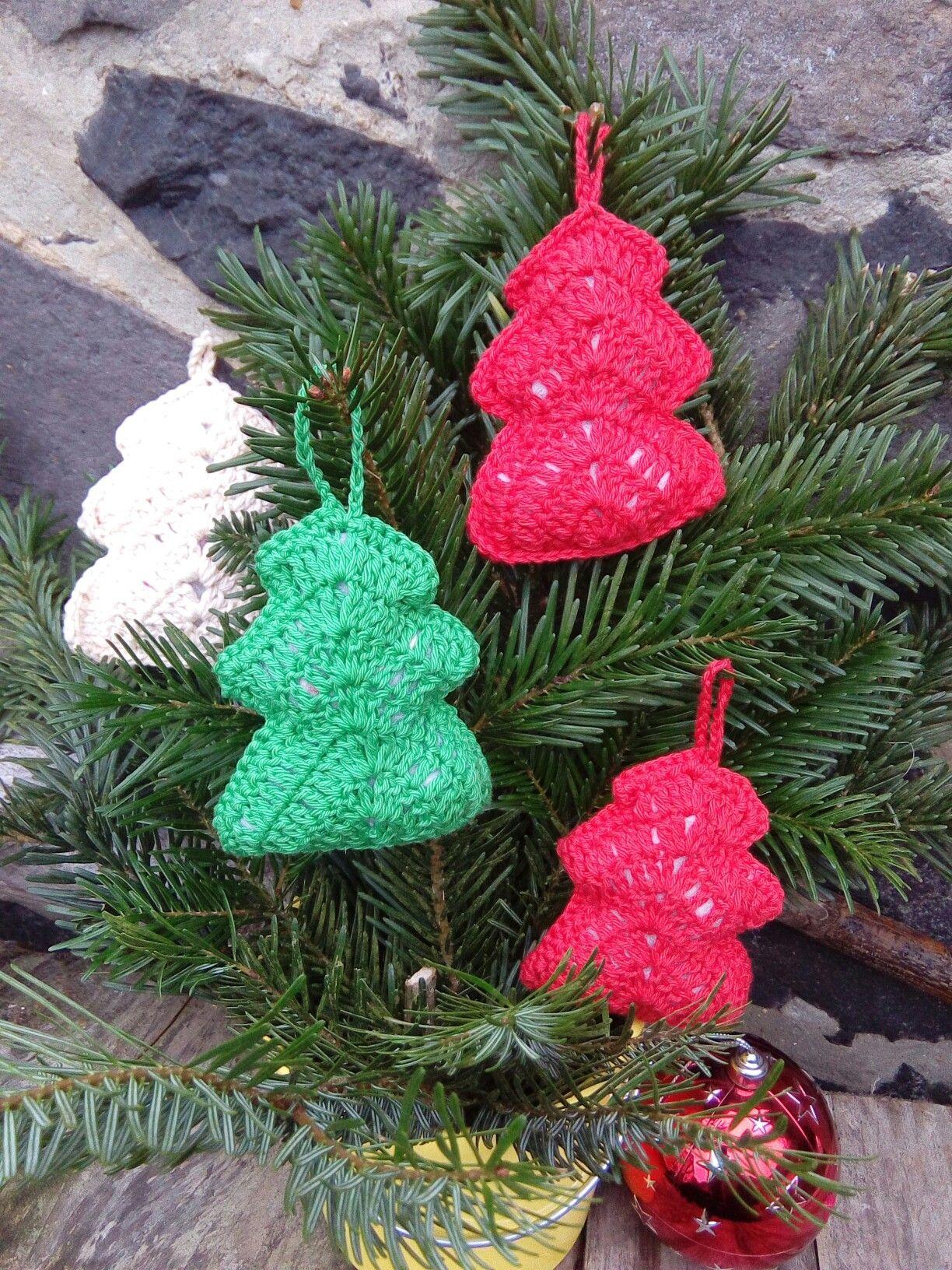 Tannenbäume Häkeln Weihnachten Häkeln Häkeln Für Weihnachten
