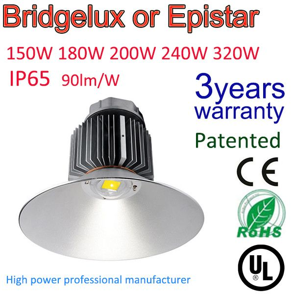 Warranty 3 Years Industrial Lighting Energy Saving Super Power High Bay Led Light 150w With Mean Well Dr High Bay Led Lighting Save Energy Industrial Lighting