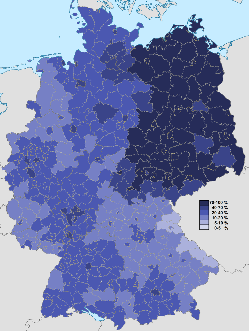 religion deutschland karte 25 Karten, die dir genau erklären, wie Deutschland funktioniert