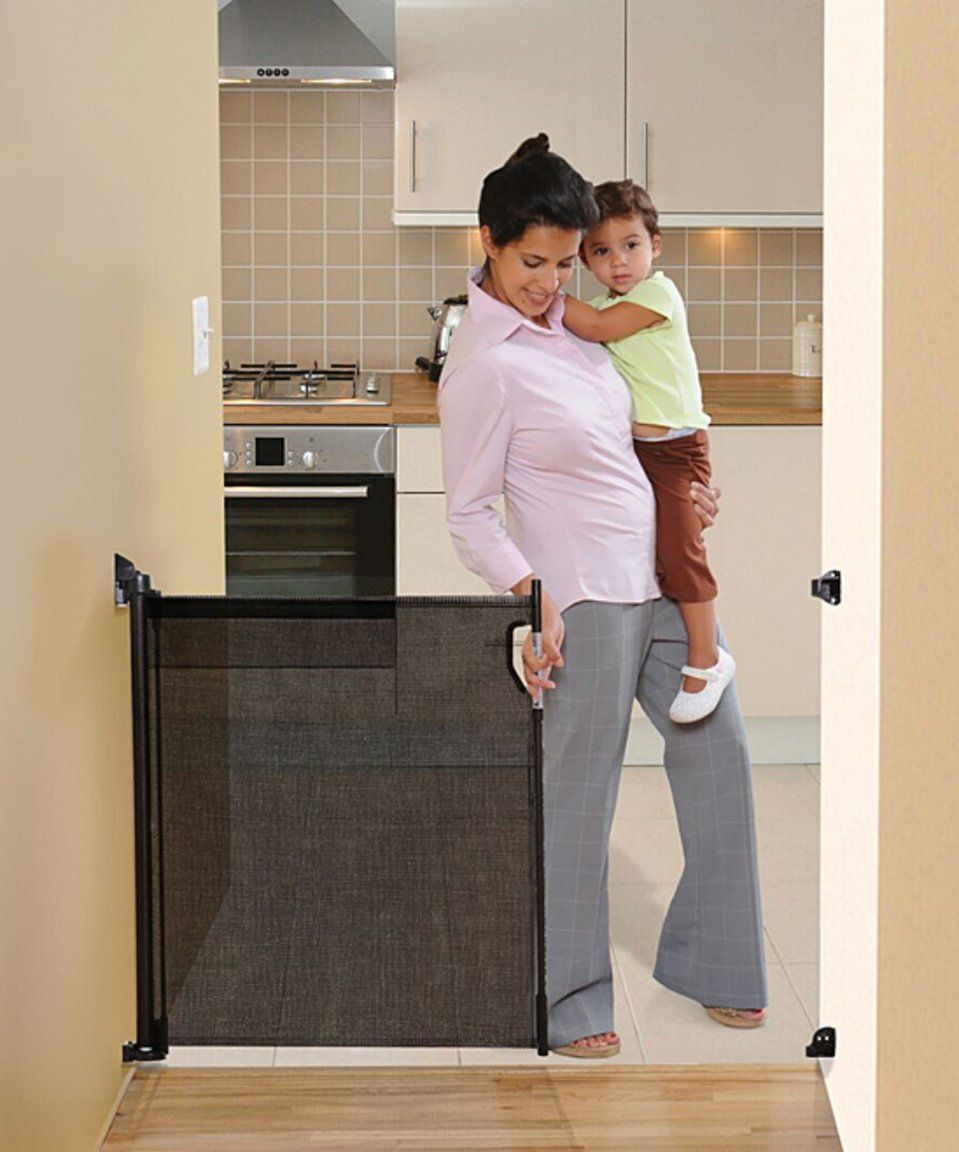 Take a look at this Dreambaby Black Retractable Gate today!
