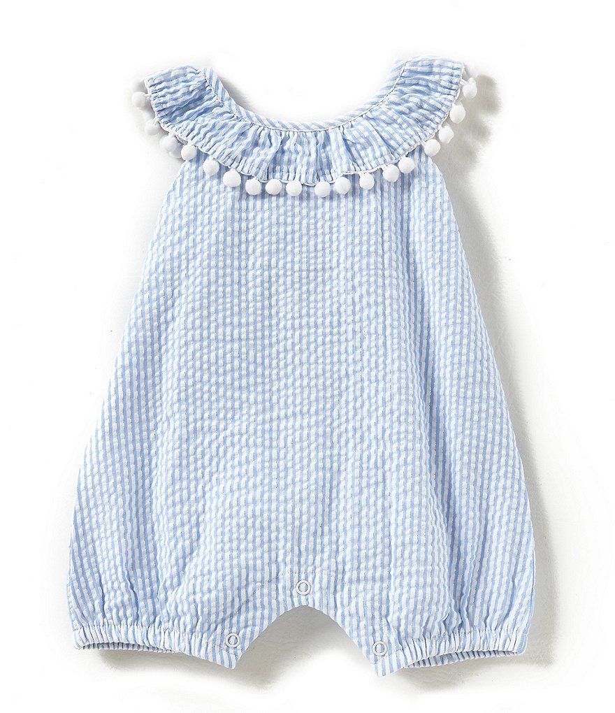 d8a87198c Rare Editions Baby Girls 3-12 Months Seersucker Romper | Sewing ...