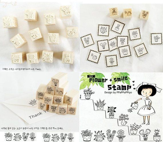 12 Gardening rubber stamp potted flower potted plant smile plant cartoon plant happy plant stamper g #planting cartoon 12 Gardening rubber stamp potted flower potted plant smile plant cartoon plant happy plant stamper gardening planner Wooden Rubber Stamp #flowerpot