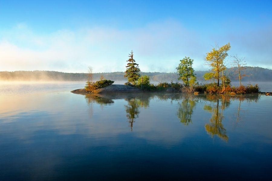 Island in the Bay by Randy Kokesch