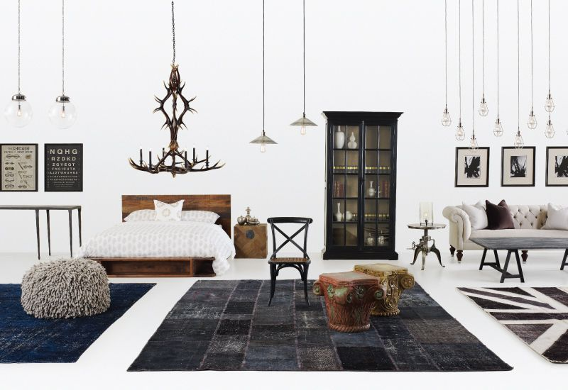 Love The Black White Union Jack Rug Loveliness Things