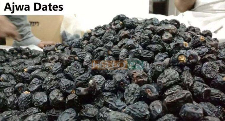 Imported ajwa khajoormabroommashroomrabia kalmi dates