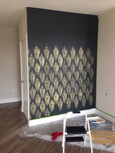 How To Update Your Space For Less Than 100 Damask Wall