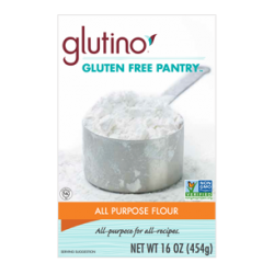 To convert any recipe, simply use a cup of all purpose gluten free baking flour to replace 1 cup of regular flour.