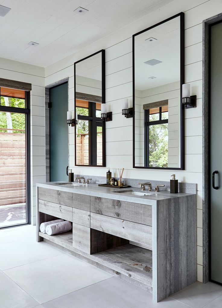 Best Inspiration How To Style Bathroom Mirror Modern Cottage Bathrooms Rustic Master Bathroom Contemporary Bathroom Designs