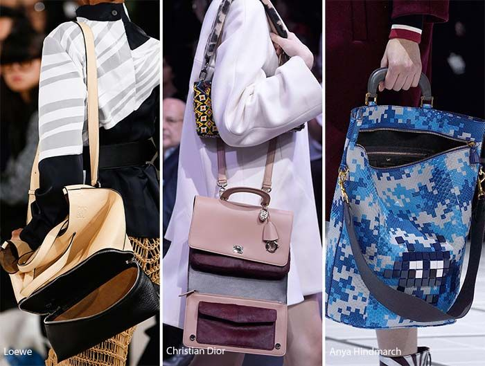 Fall Winter 2017 Handbag Trends Bags Left Open