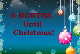 Image result for 6 months til christmas eve | Days till Christmas ...