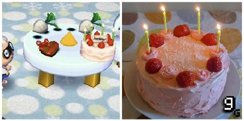 Animal Crossing Birthday Cake tried it and its delicious