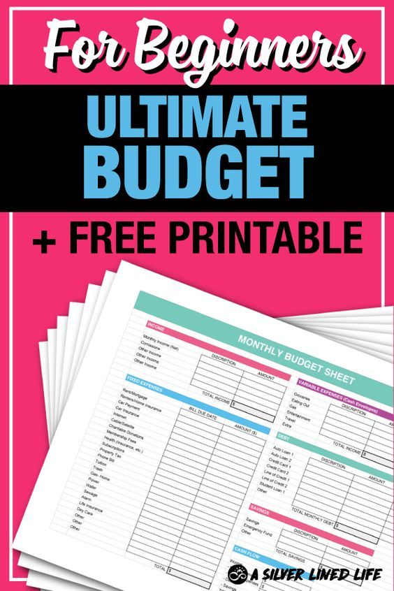 Budget + FREE Printable, For Beginners Dave ramsey, Frugal living - free download budget spreadsheet