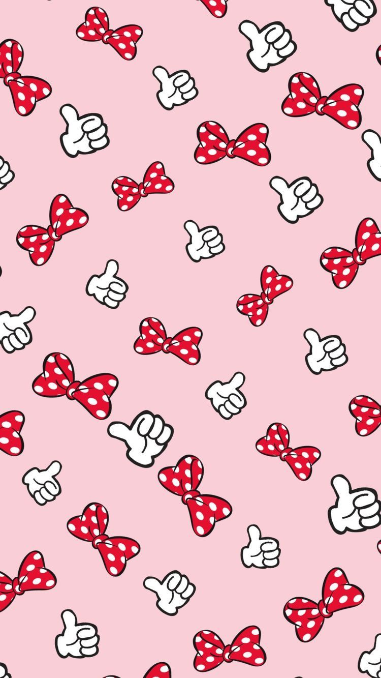 Minnie Bows Mickey Mouse Wallpaper Cute Disney Wallpaper Mickey Mouse Wallpaper Iphone