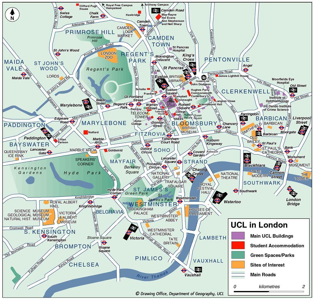 Mapa Turistico Londres2 Jpg 1 100 1 051 Pixels Londen Kaart Londen Uitjes
