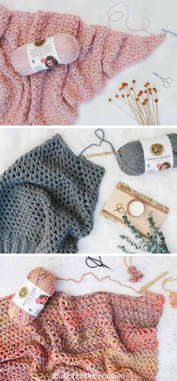 Presto! 4.5 Hour Afghan - Free, Fast Crochet Blanket Pattern