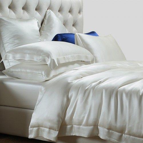 19mm Housse De Couette En Soie Mit Bildern Seide Bettwasche Beste Matratze Bett Ideen
