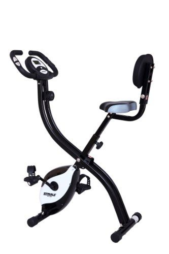 cool Striale SV-314 Exercise Bike with Care Instructions (cannot guarantee these are in English) Black
