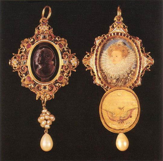 The Drake Jewel, England (1586)  Gifted by Queen Elizabeth I of England to Sir Francis Drake