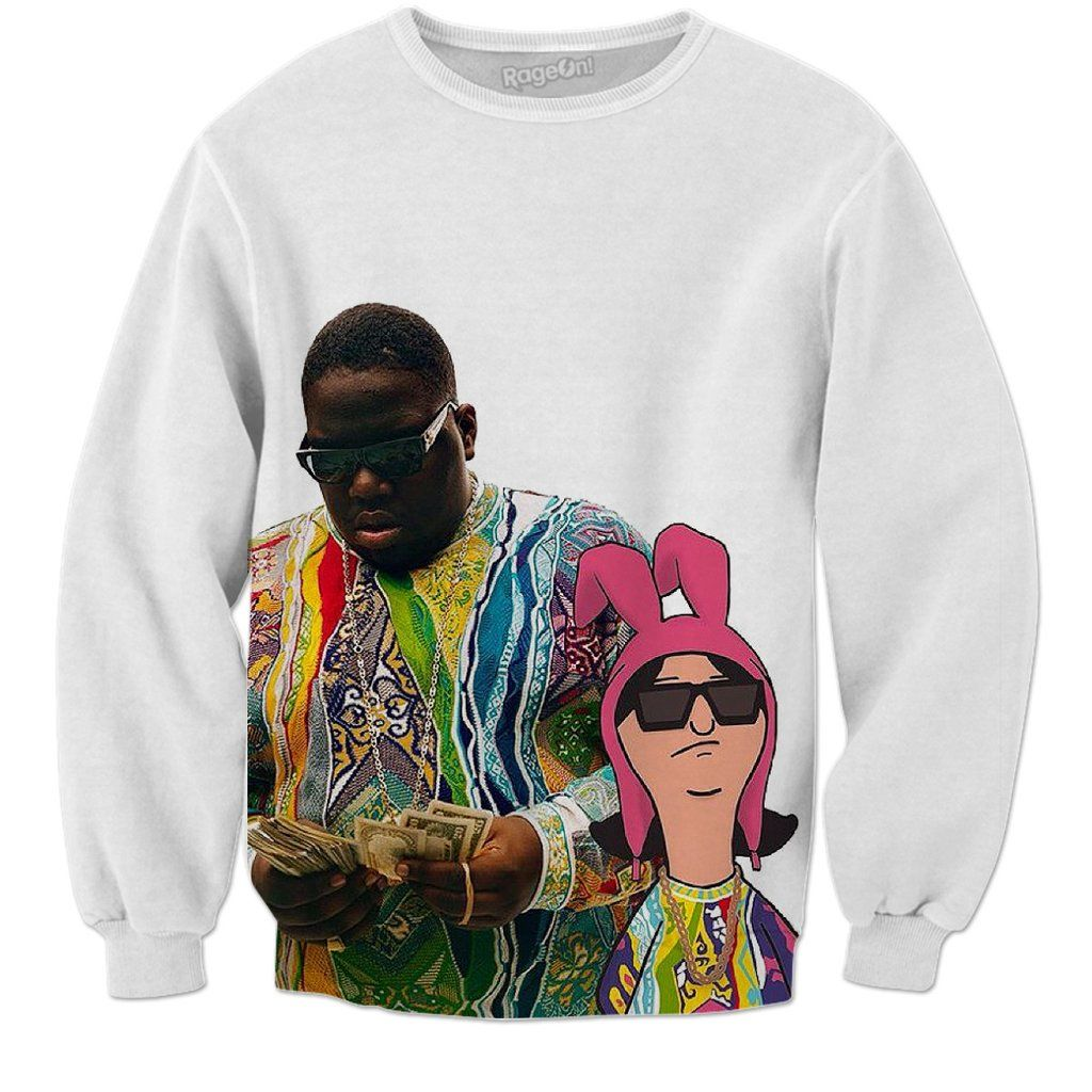30a1d6e0 Biggie and Bobs burgers sweatshirt | Sewing & Clothing Ideas ...