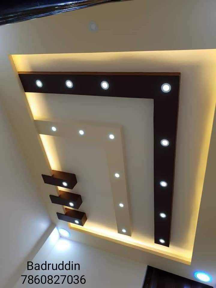 Trần Phong Khach Interior Ceiling Design House Ceiling Design Coffered Ceiling Design
