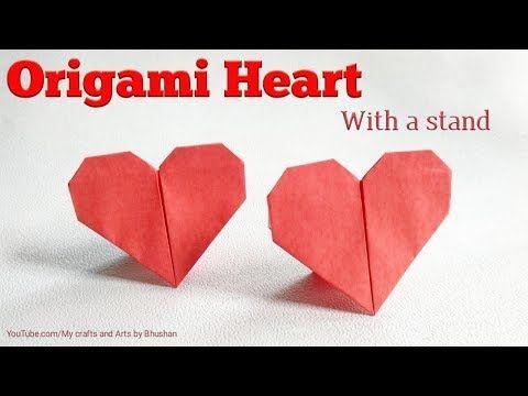 Photo of Wie man ein Origami-Herz mit einem Ständer macht || Valentinstag Geschenk Origami Herz ♥