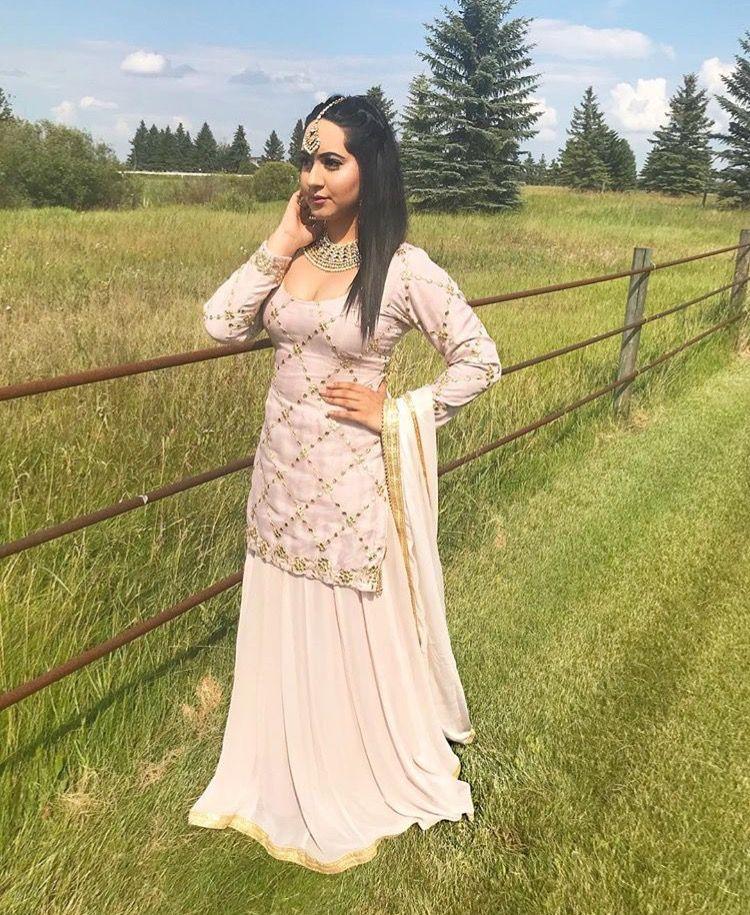 243d297b28 Pinterest: @pawank90 Sharara, Punjabi Suits, Indian Dresses, Palazzo, Asian  Fashion