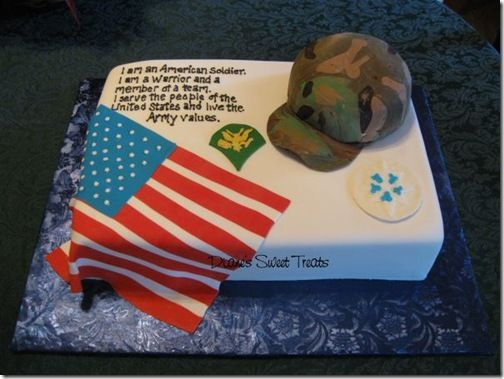 Our Veterans Day Tribute Army Cake Military Cake Cake