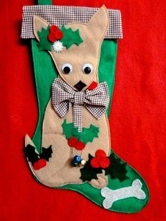 chihuahua stocking - Google Search