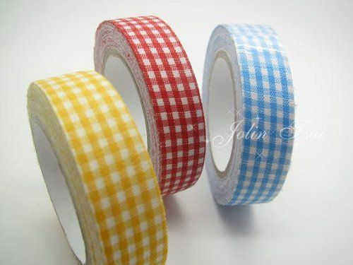 lattice Cloth Craft adhesive tape- 3 Rolls wind only beautiful multi-function adornment Masking Tape by Oyang, http://www.amazon.com/dp/B00AFXTP44/ref=cm_sw_r_pi_dp_zocNrb1YZMCNQ