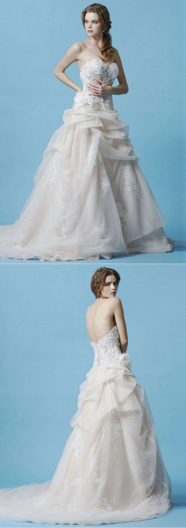 Awesome Wedding Dresses For Short Curvy Brides Pictures - All ...