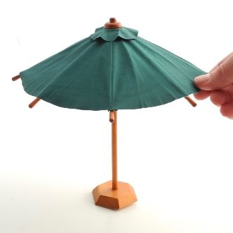 Miniature Garden Patio Umbrella
