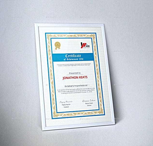 corporate certificate template word format selecting certificate