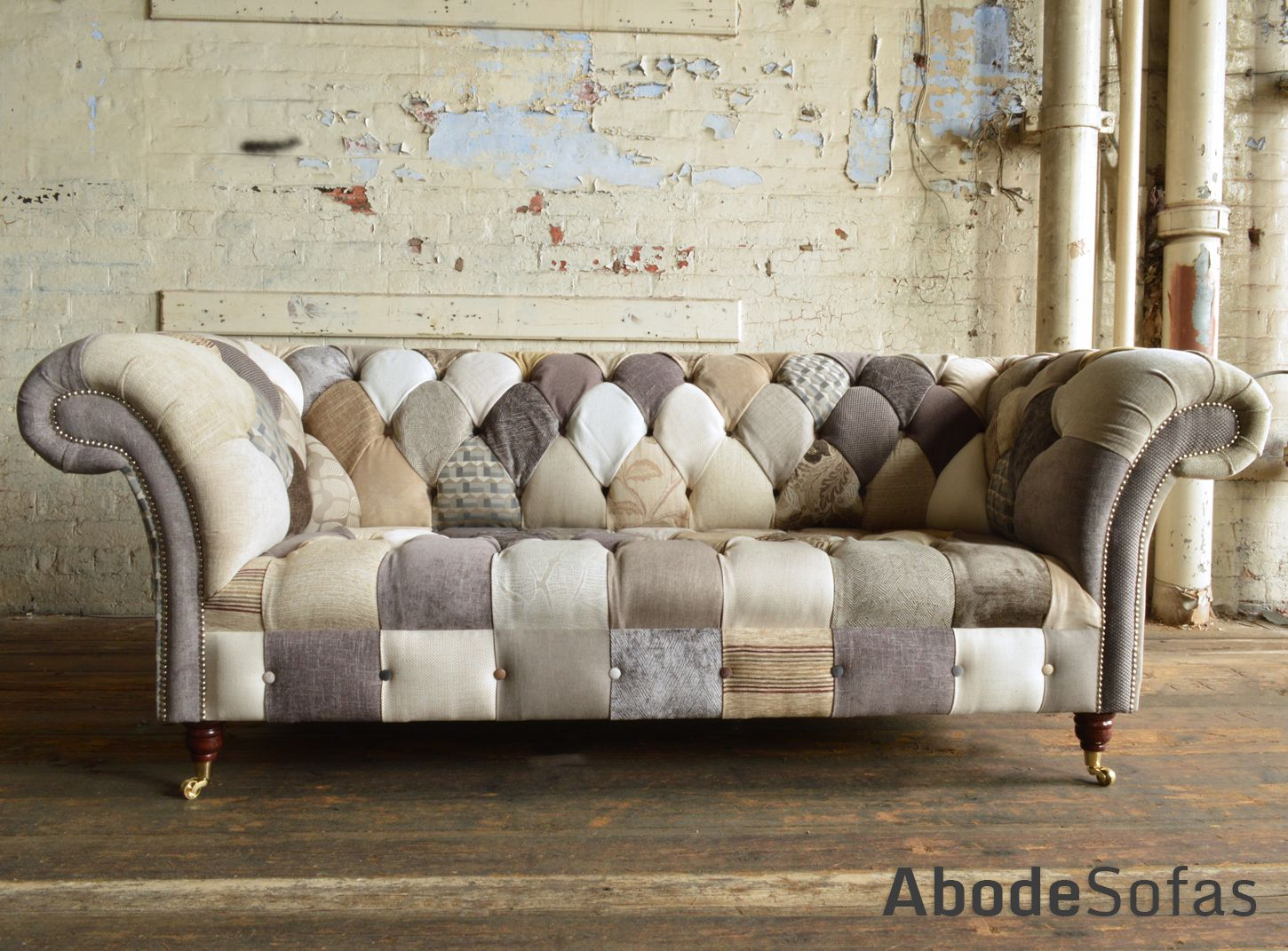 Patchwork Chesterfield Sofa Uk Chester Patchwork