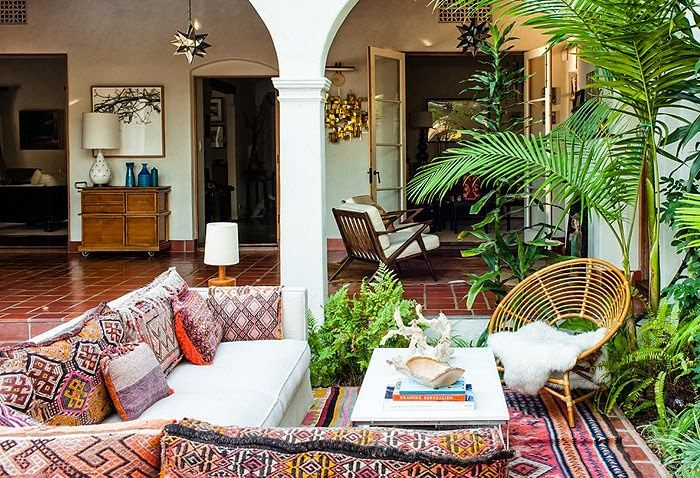 spanish style outdoor furniture. Bohemian Porch Ideas | Spanish Style Patio Furniture Outdoor A